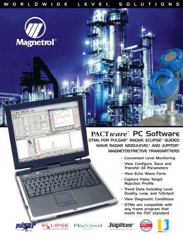 PACTware™ PC Software - Eoss.com