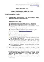 Notatka z zajęć 25 lutego 2013 r. Literatura dla dzieci i młodzieży po ...