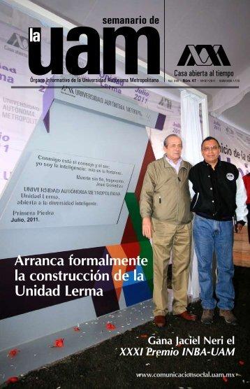 Arranca formalmente la construcción de la Unidad Lerma - UAM ...
