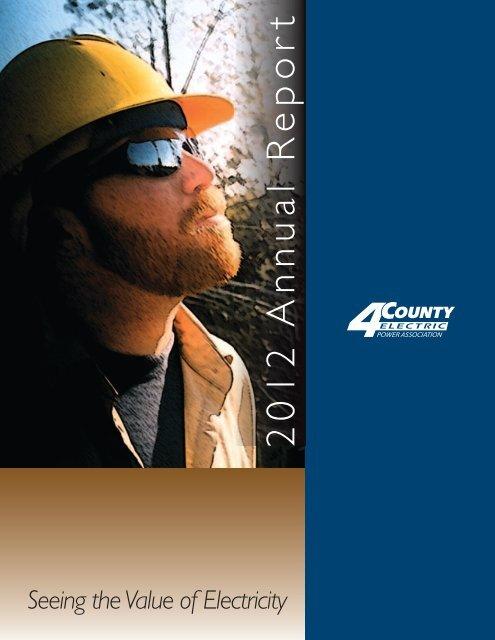 2 0 1 2 A n n u al R e p o rt - 4-County Electric Power Association