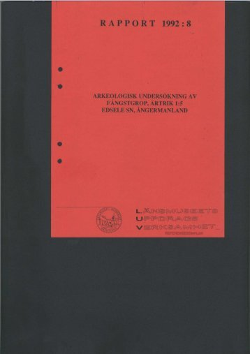 RAPPORT 1992:'8 - Bild.ylm.se - Murberget