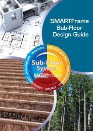 SmartFrame Subfloor Design Guide - Tilling Timber