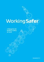 Working Safer - Ministry of Business, Innovation, and Employment
