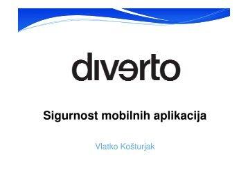 Sigurnost mobilnih aplikacija - HrOUG