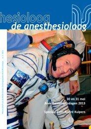 de anesthesioloog mei 2013 - Nederlandse Vereniging voor ...