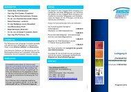 Lehrgang A - Bundesverband Schimmelpilzsanierung eV