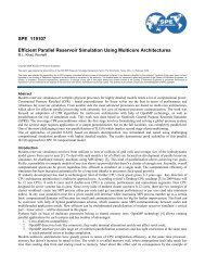 Efficient Parallel Reservoir Simulation Using Multicore Architectures