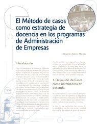 El Método de casos como estrategia de docencia en los programas ...