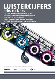 dec 09-jan 10 - Sky Radio Group