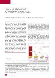 Sûreté des transports de matières radioactives - Sfen