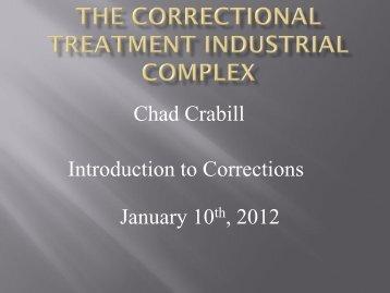Corrections Presentation
