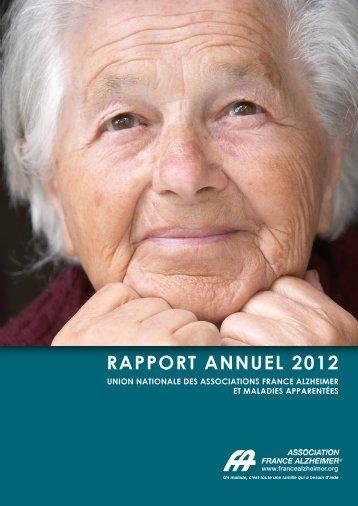 Rapport annuel 2012.pdf - France Alzheimer