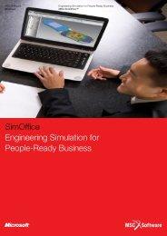 Download the SimOffice brochure (pdf) - optimec..