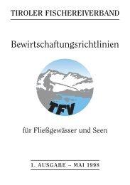 Bewirtschaftungsrichtlinien 1998 [PDF 1,13 MB] - Tiroler ...