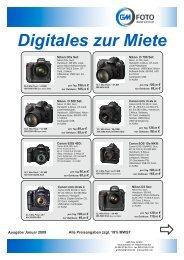 Digitales zur Miete - GM-Foto