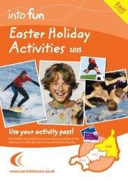 Easter Holiday Activities 2013 - Sir Robert Geffery's School