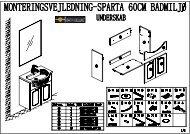 Sparta manual (DK) - Bath Deluxe