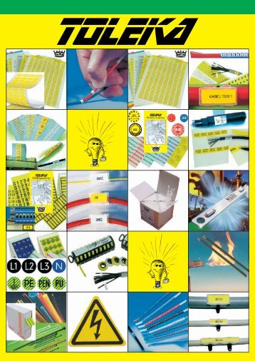 Part-, kabel- och ledningsmärkning - Toleka