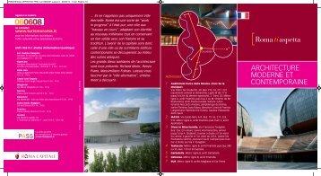 Architecture moderne et contemporaine - Roma