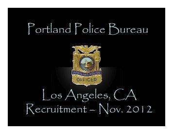 test preparation workshop powerpoint - Portland Police Bureau ...