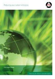 Carbonfta support guide - Freight Transport Association