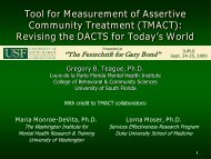Tool for Measurement of Assertive Community Treatment (TMACT ...