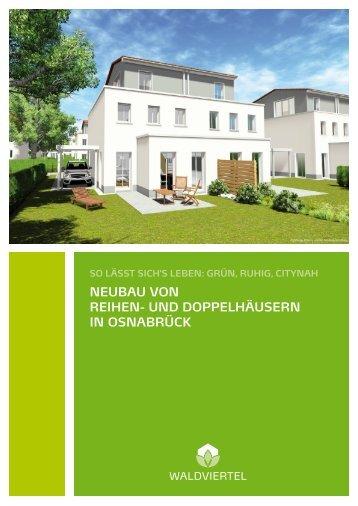neubau von reihen- und doppelhäusern in osnabrück - Domiterra