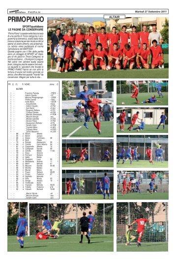 25 settembre 2011 - ALTAIR - 7 MULINI - SPORTquotidiano