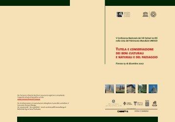 PROGRAMMA UNESCO XI - Ufficio Patrimonio Mondiale UNESCO