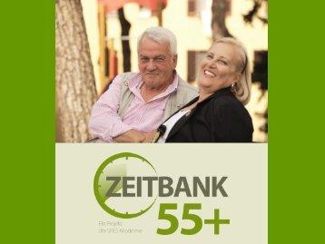 Präsentation Zeitbank 55+