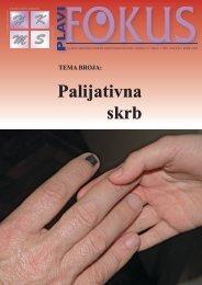 Palijativna skrb - Hrvatska komora medicinskih sestara