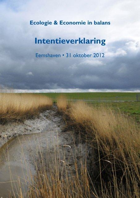 intentieverklaring pdf Intentieverklaring EE ondertekend 31 10 12.pdf   Waddenvereniging