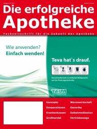Ausgabe 02.2011 - Die erfolgreiche  Apotheke - Fachzeitschrift für ...