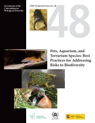 Pets, Aquarium, and Terrarium Species - Convention on Biological ...