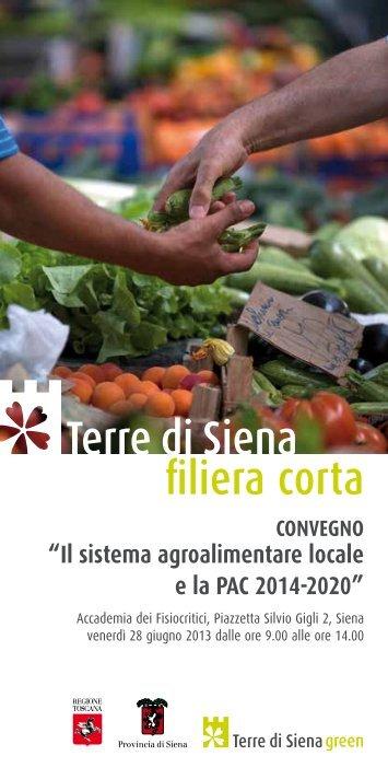 CONVEGNO - Provincia di Siena