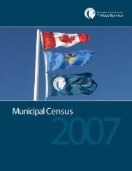 2007 Municipal Census Report - Regional Municipality of Wood ...