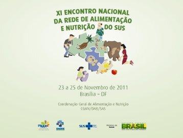 Programa Nacional de Melhoria do Acesso e da Qualidade da ...