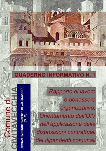 Quaderno informativo 1 OIV.pdf - Comune di Civitavecchia