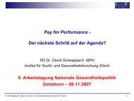 Workshop 3 - Dialog Nationale Gesundheitspolitik