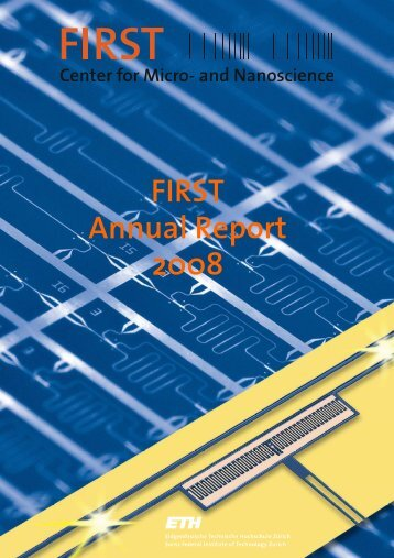 Annual Report FIRST 2008