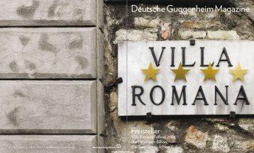 Deutsche Guggenheim Magazine