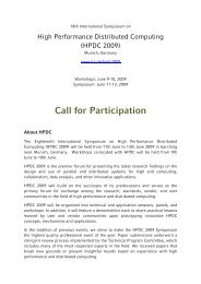 Call for Participation in standard style (pdf version) - HPDC