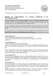 Beispiele_Transferaufgaben.pdf - Lehrstuhl für Wirtschaftsinformatik