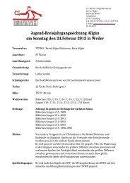 die Einladung Kreisjahrgangssichtung Allgäu - TTVWH Bezirk ...