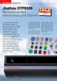 Jiuzhou DTP8300 - TELE-satellite International Magazine