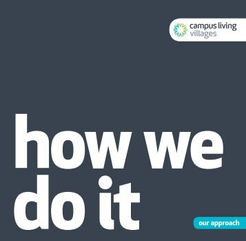 CLV UK Operational Brochure - How We Do It - Campus Living ...