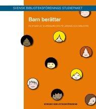 Barn berättar - Svensk Biblioteksförening