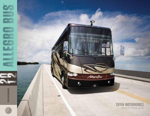 2012 Tiffin Motorhomes Allegro Bus Brochure Pdf