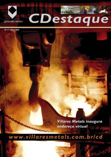 Nº 17 • Março 2005 - Villares Metals