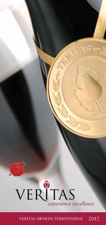 VERITAS AWARDS/TOEKENNINGS 2012